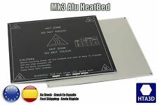 MK3 Alu Heated Bed Cama Caliente 12/24v reprap impresora 3d printer + THERMISTOR