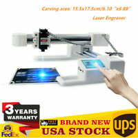 3000mW Laser Engraving Machine Engraver Printer Off-line For wood leather bamboo