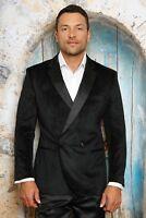 Mens INSOMNIA MANZINI BLACK VELVET Jacket ENTERTAINER PERFORMER MUSICIANS MZV513