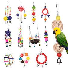 Jouet Suspendue pour oiseau perroquet perruche chaîne balançoire échelle chew