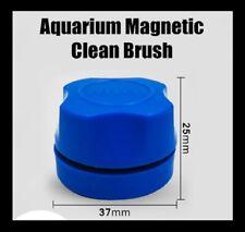 Aquarium Magnetic Brush Fish Tank Glass Window Cleaner Floating Scrubber Tool