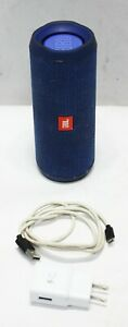 JBL Model Flip 4 Waterproof Portable Bluetooth Speaker - Blue