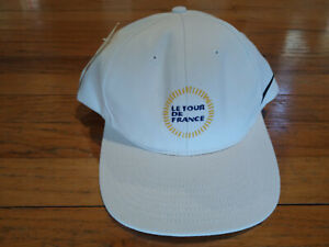 Tour de France Cycling Trucker Ball Podium Cap Hat: New by Nike White