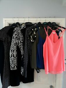 Ladies Womens Smart Clothes Bundle Size 12 River Island Zara H+M Office Work