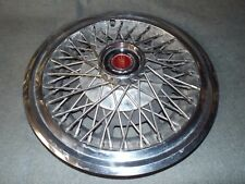 14 Wire Wheel Cover Hub Cap 1977 1979 1980 1981 Ford Mustang Fairmont Ranchero A Fits 1968