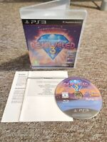Bejeweled 3 - RARE Sony PS3 Puzzle Game - COMPLETE - Fast & Free P&P!