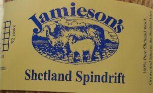 Jamieson's Shetland Spindrift Oyster 290 Utah Killer Bug Fishing Fly Yarn 10 Ft