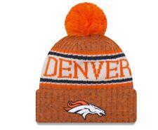 c08932575b286 NEW ERA 2018-2019 SPORT KNIT On field Sideline Beanie Winter Fleece Pom Cap  Hat