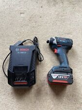 Bosch AL 1860 CV Impact Driver, Battery And Charger