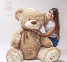 Teddybär 190 CM BIG XXL Riesen Kuscheltier Stofftier Plüschbär Geschenk bär