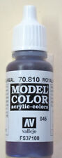 Vallejo Model Color Paint: 17ml  Royal Purple 70810 (M045)