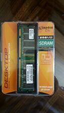 Kingston PC-133 256 MB DIMM 133 MHz SDRAM Memory (KVR133Q/256R)