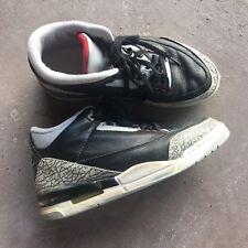 b95120a9b1ec2d Rare Vintage Nike Air Jordan 3 iii Retro Original 1994 Black Cement Men s Sz  9.5