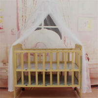 Baby Bed Mosquito Net Mesh Dome Curtain Net for Toddler Crib Cot Canopy TB