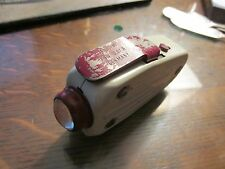 "Vintage German Hand Crank Handheld Flashlight ""Martini"" Dynamo WWII Era"