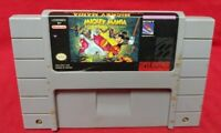 Mickey Mania Timeless - *Authentic* Super Nintendo SNES Game Works / Tested