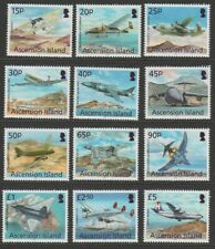 Ascension MINT 2013 Aircraft complete set sg1150-61 MNH