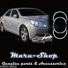Chrome Wheel Well Fender Cover Trim for 13~15 Chevrolet Malibu