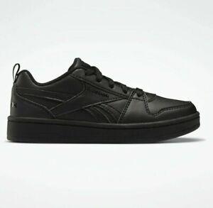 Reebok Royal Prime 2 Black Trainers Kids School Boys Shoes