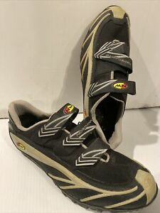 Northwave NW Mountain Bike Cycling Shoes Mens US Size 13 EUR 47 Black Used ITALY