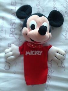 Mickey Mouse hand puppet by playskool