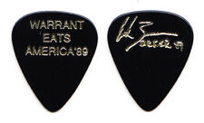 Warrant Erik Turner Signature Black Guitar Pick - 1989 Warrant Eats America Tour