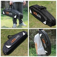 Rod And Reel Holdall Storage Case Carry Bag 3 Pockets Carp Coarse Fishing Tackle