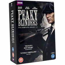 Peaky Blinders Series 1-4 DVD Complete Season 1,2,3 & 4 New Sealed Region 2 UK