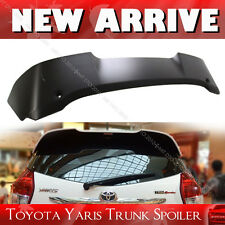 Painted For Toyota 3rd Yaris Hatchback T-Style Color Rear Roof Spoiler Wing