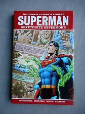 SUPERMAN KRYPTONITE NEVERMORE HARD COVER 1ST PRINTING VO NEUF / NEAR MINT / MINT