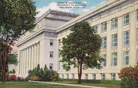 Postcard James Angell Hall University Michigan Ann Arbor MI