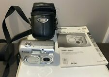 FujiFilm Finepix A210 Digital Camera Fuji Film W/Leather Case