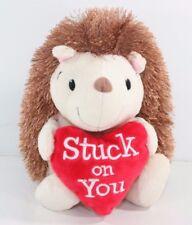 Hallmark STUCK ON YOU PORCUPINE Valentine Red Heart Plush Soft Toy Stuffed