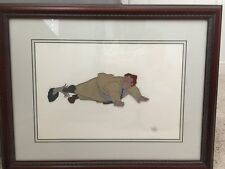Disney Animation Cell The Rescuers 1977 Mr. Snoops, Framed, Purchased At WDW