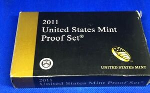 2011 US MINT PROOF SET - 14 COINS - IN ORIGINAL PACKAGING AND COA