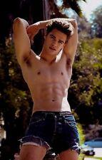 Shirtless Male Beefcake Muscular Hunk Arm Pits Stretch Flex Dude PHOTO 4X6 D929