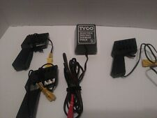 TYCO ELECTRIC RACING POWER PACK CORD Lot 3 CONTROLLERS SLOT CAR HO SCALE