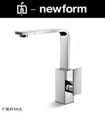 "Newform ""d-Rect / Forma Collection"" 61420 Kitchen Sink Mixer w/Swivel Spout NIB"