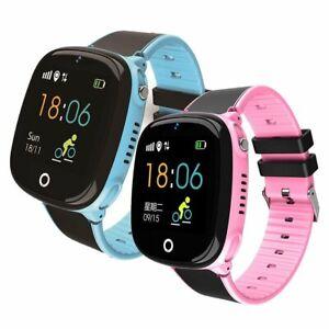 Kinder GPS Tracker Smartwatch SIM SOS Kamera Armbanduhr Deutsch Sprache MIS DHL