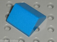 LEGO Blue Slope Brick 45 2 x 2 Double ref 3043 / set 3739 733 7146 393 6090 ...