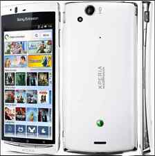"Blanco 4.2"" Sony Ericsson Xperia Arc S LT18i 1GB 8MP con Cámara Desbloqueado Teléfono Móvil"
