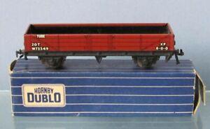 HORNBY DUBLO 3-RAIL 10 TON TUBE-WAGON. 00 GAUGE.