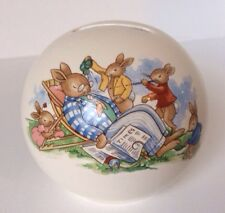 Vintage 1936© 1960's Bunnykins Moneybox Stopper Father Boys Pea Shooter Male