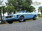 1973 Ford Mustang Convertible 1973 FordMustangConvertibleBlue (Light)Survivor Classic Car Services LLC
