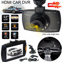 HD 1080P Car DVR Camera Dash Recorder Cam Video DVR Night G Sensor Camera 2.4''