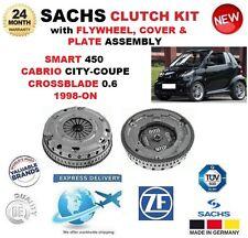 para Smart 450 0.6 1998-on SACHS Kit DE EMBRAGUE CON VOLANTE, funda y placa