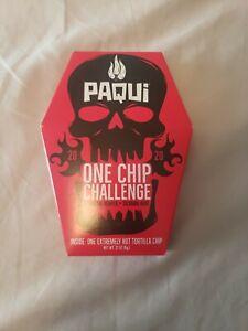 2020 Paqui One Chip Challenge World's Hottest Chip  (0.21 oz One Box)