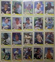 20 cards 1982 Donruss LOT HOF + Stars *Robin Yount *Rod Carew **FREE SHIPPING**