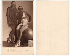Frauen im Bademode,Girls Fashion Style Reklame Praha Bazar Ahoi RPPC c.1940 /2