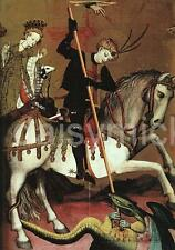 St George & The Dragon Patron Saint of England Andres Marzal Sas 7x5 Inch Print